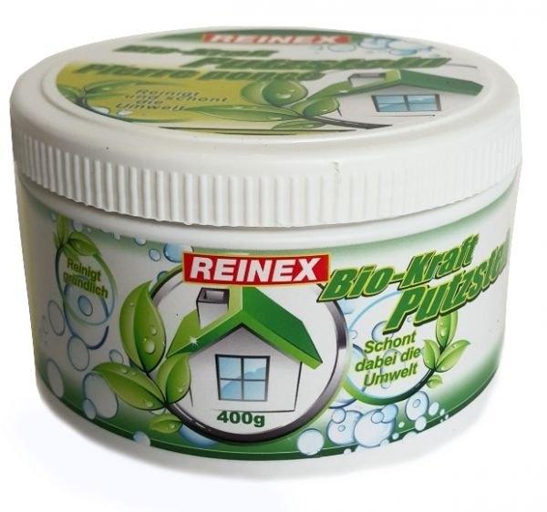 Чистящая универсальная паста для поверхностей  с губкой Reinex Bio-Kraft Putzstein 400 г (4068400020291) - 2