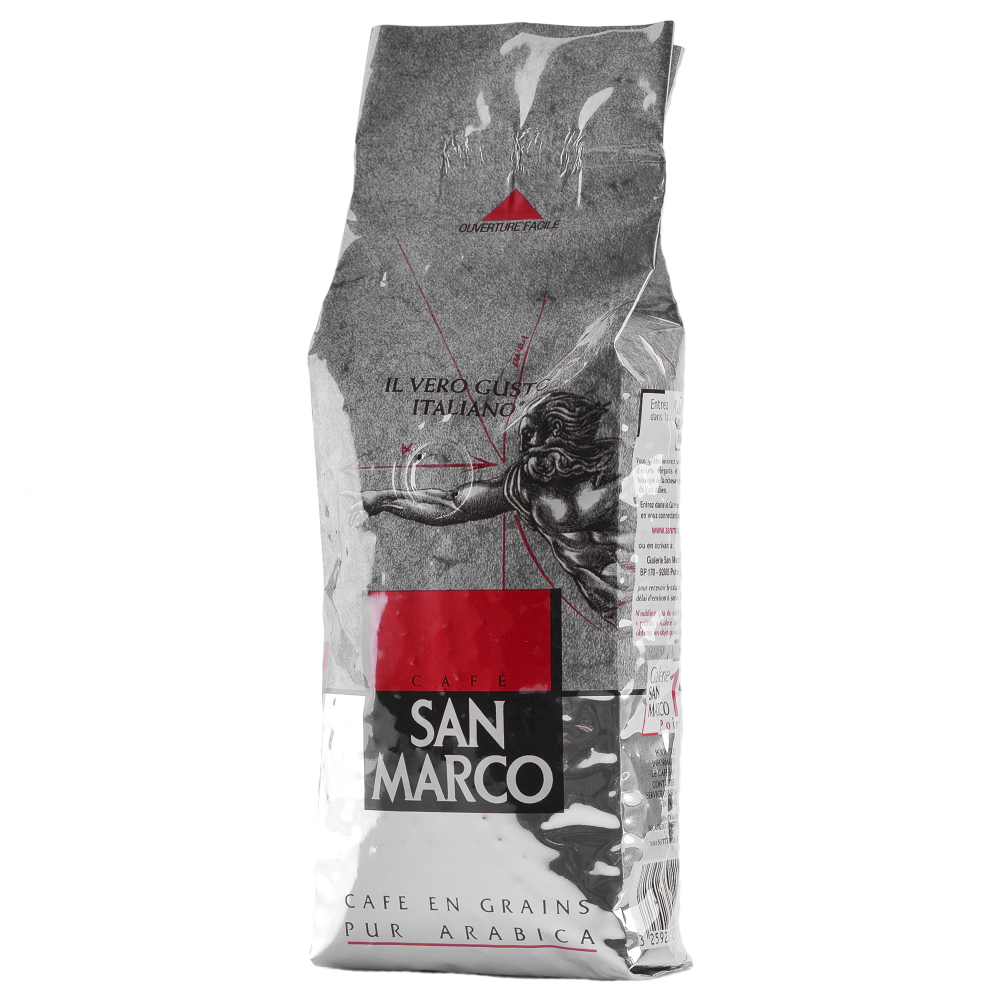 Кофе в зернах San Marco 100% Арабика 250г  (3259234211004) Segafredo Zanetti - 2