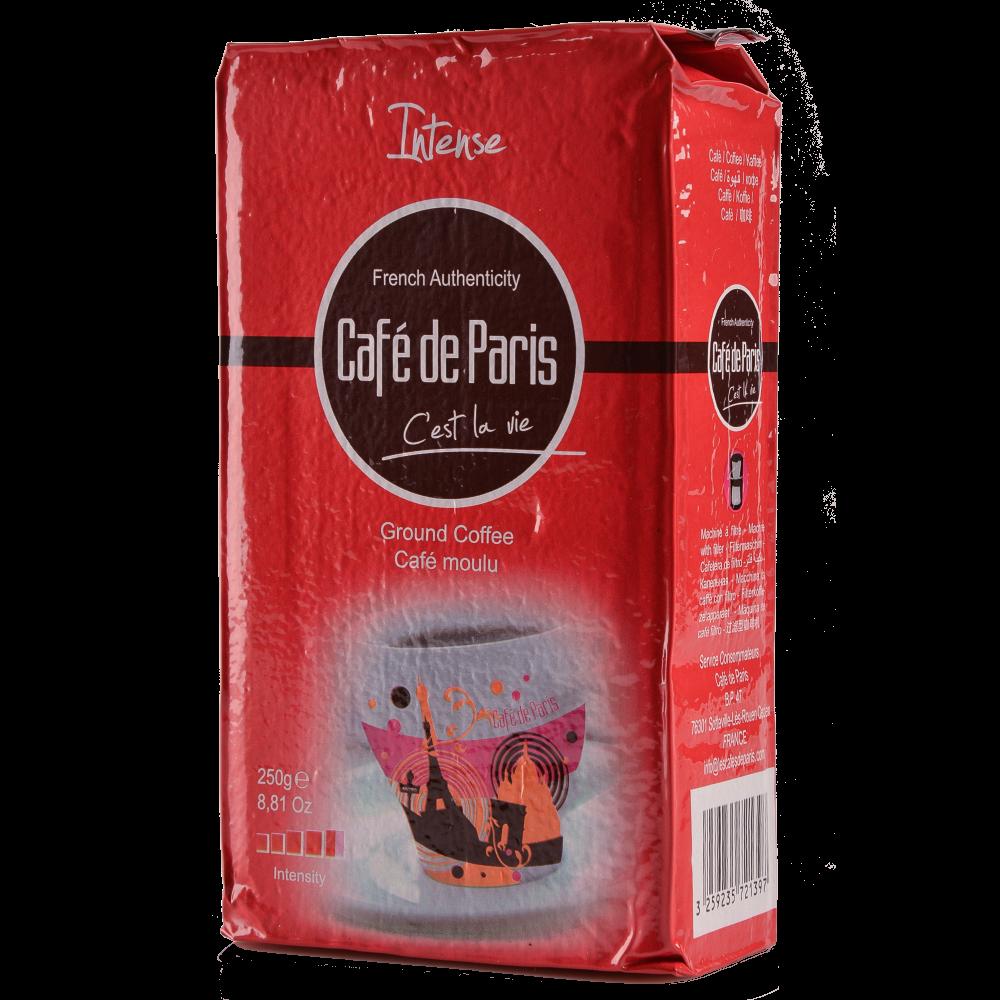 Кофе молотый Cafe de Paris Intense 100% Робуста  250г  (3259235721397) Segafredo Zanetti - 2
