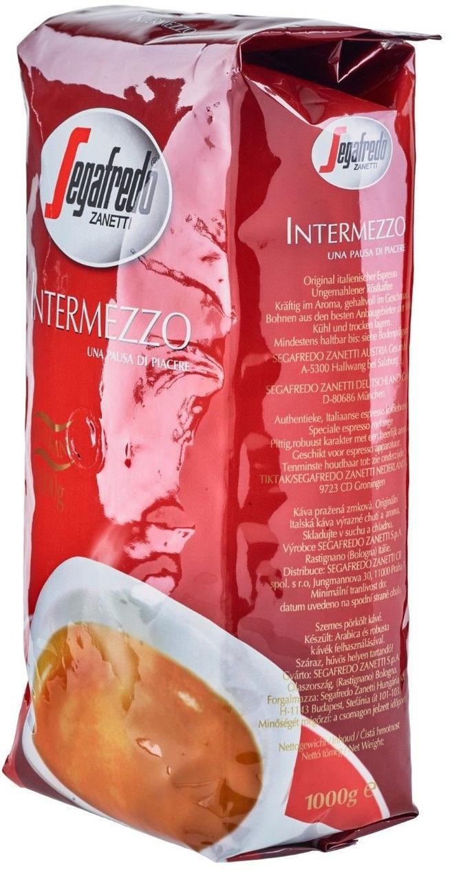 Кофе Segafredo Intermezzo 1кг. (Zegafredo Zanetti). - 2