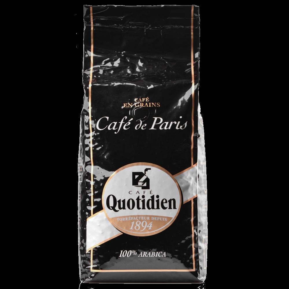 """Кофе в зернах Quotidien """"Cafe De Paris"""" 1кг. (Segafredo Zanetti). - 1"""