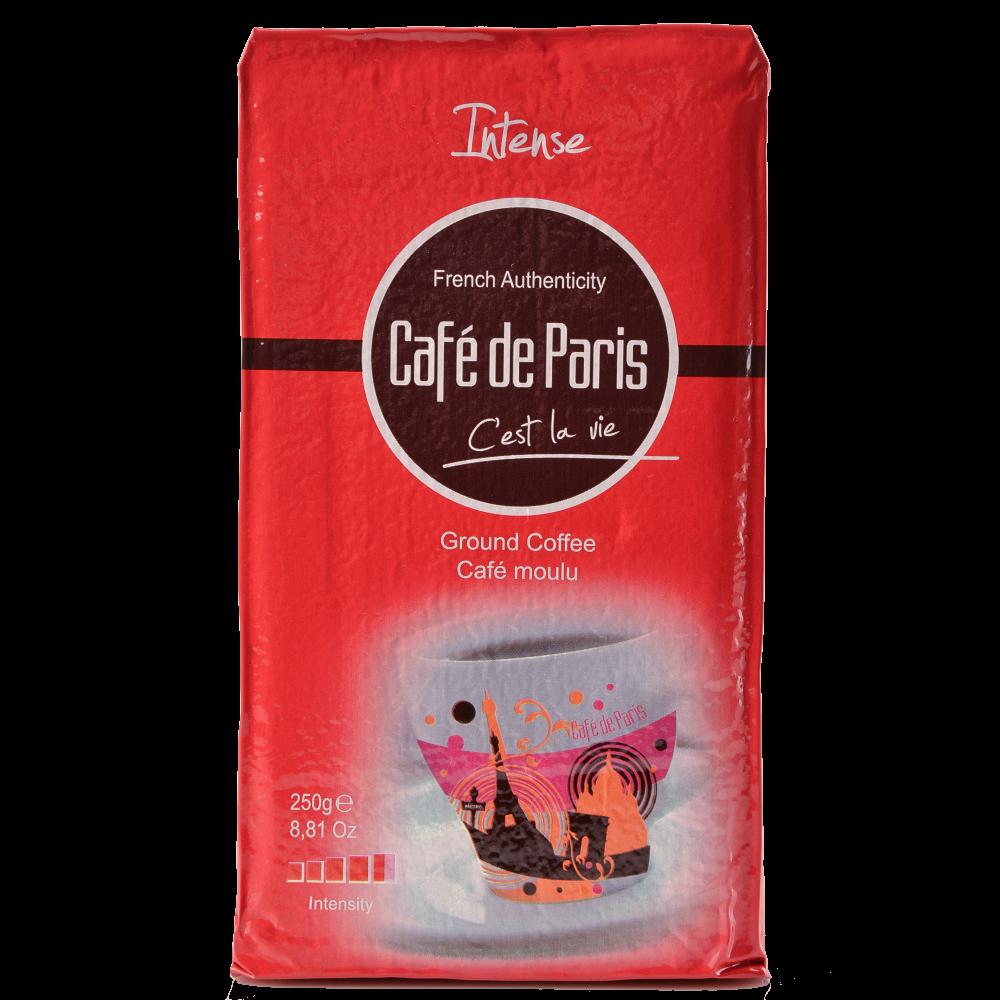 Кофе молотый Cafe de Paris Intense 100% Робуста  250г  (3259235721397) Segafredo Zanetti - 1