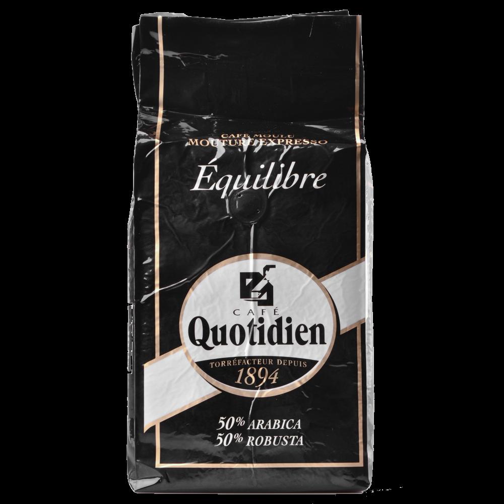 "Кофе в зернах Quotidien ""EQUILIBRE"" 1кг. (Segafredo Zanetti). - 1"