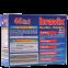 Таблетки для мытья посуды в посудомоечной машине Bravix 5в1  40 шт (4000317150029) - 1