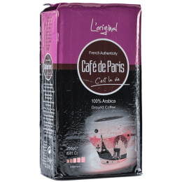 Кофе молотый Cafe de Paris L'original  100% Арабика 250г (3259235221392) Segafredo Zanetti